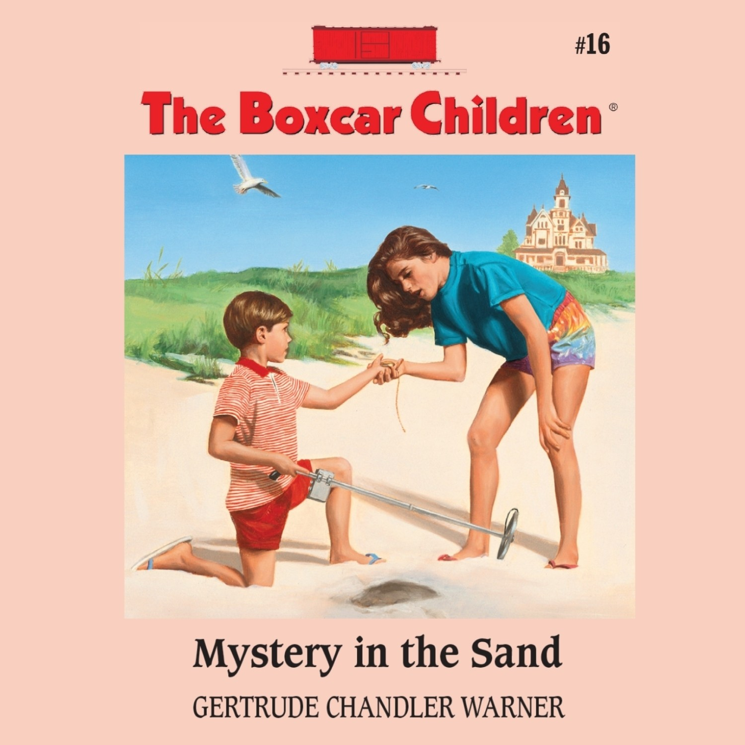Printable Mystery in the Sand Audiobook Cover Art