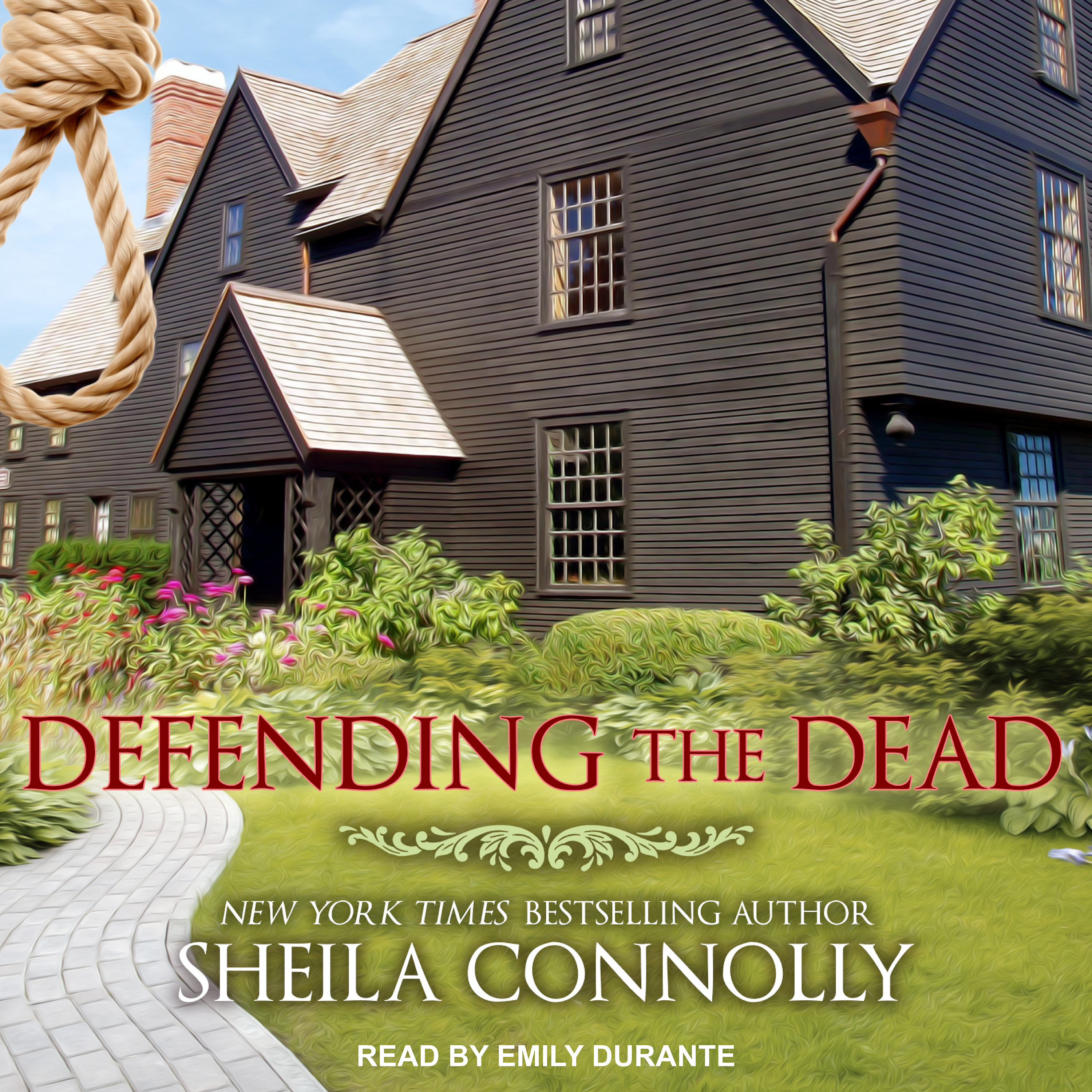 Printable Defending the Dead Audiobook Cover Art