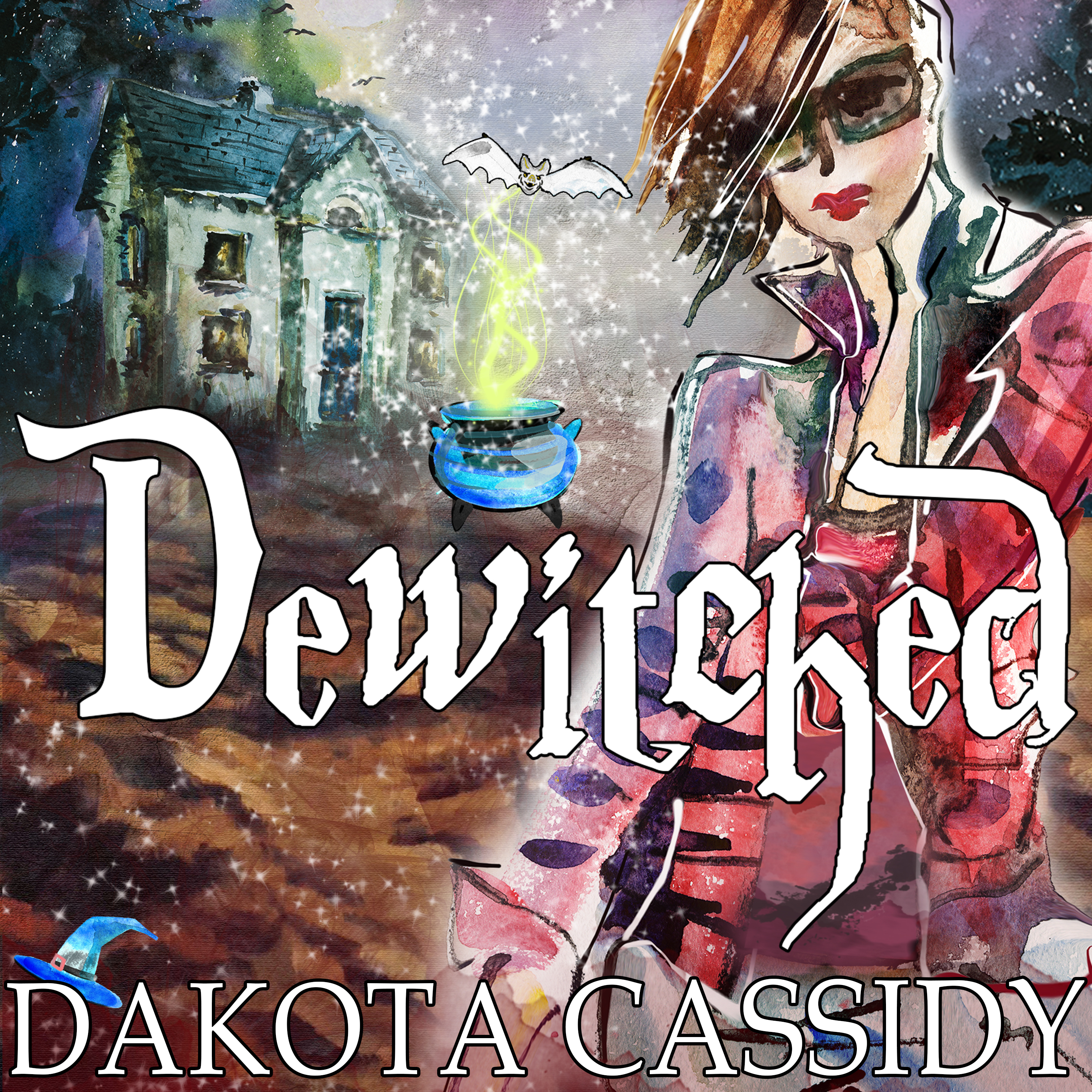 Printable Dewitched Audiobook Cover Art