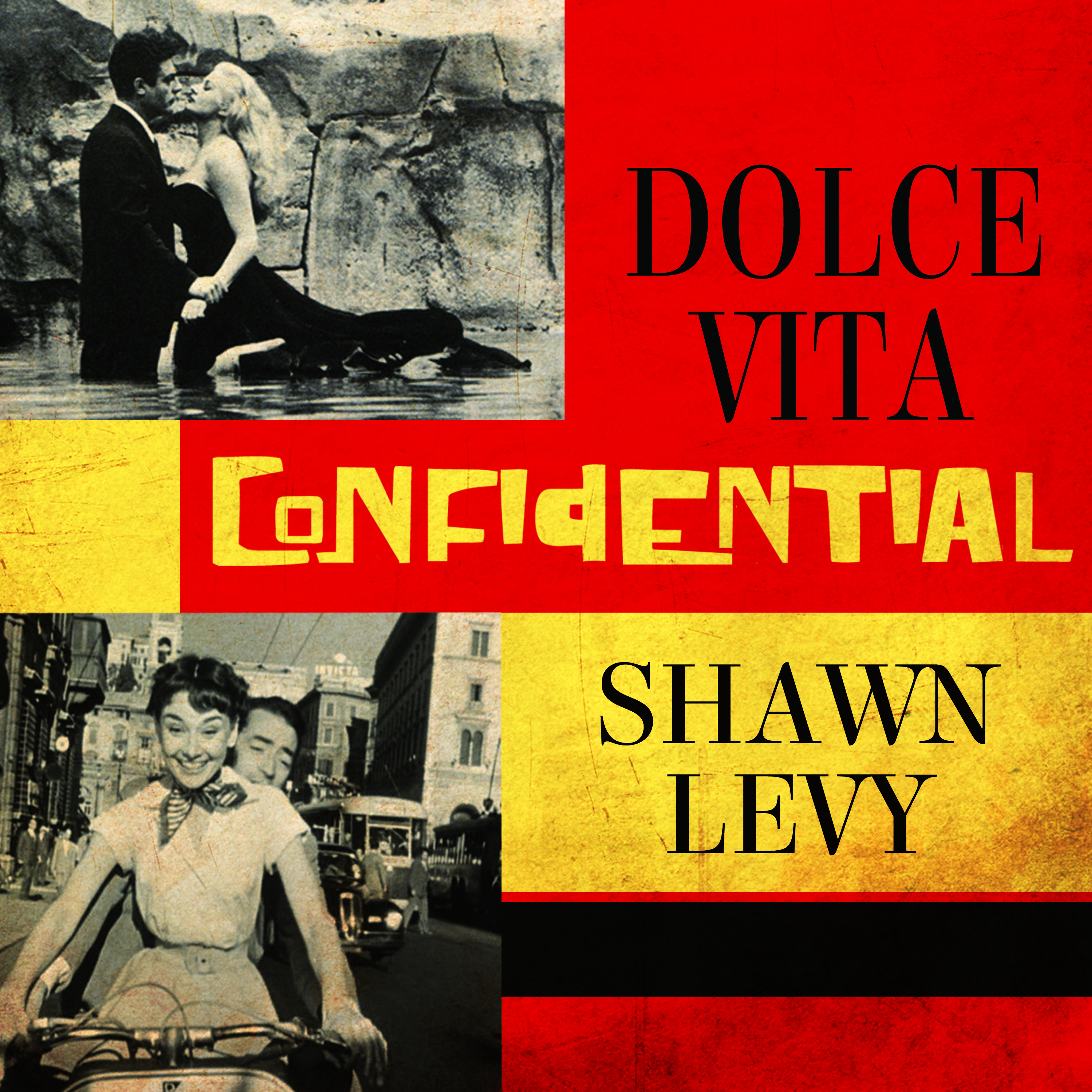 Printable Dolce Vita Confidential: Fellini, Loren, Pucci, Paparazzi, and the Swinging High Life of 1950s Rome Audiobook Cover Art