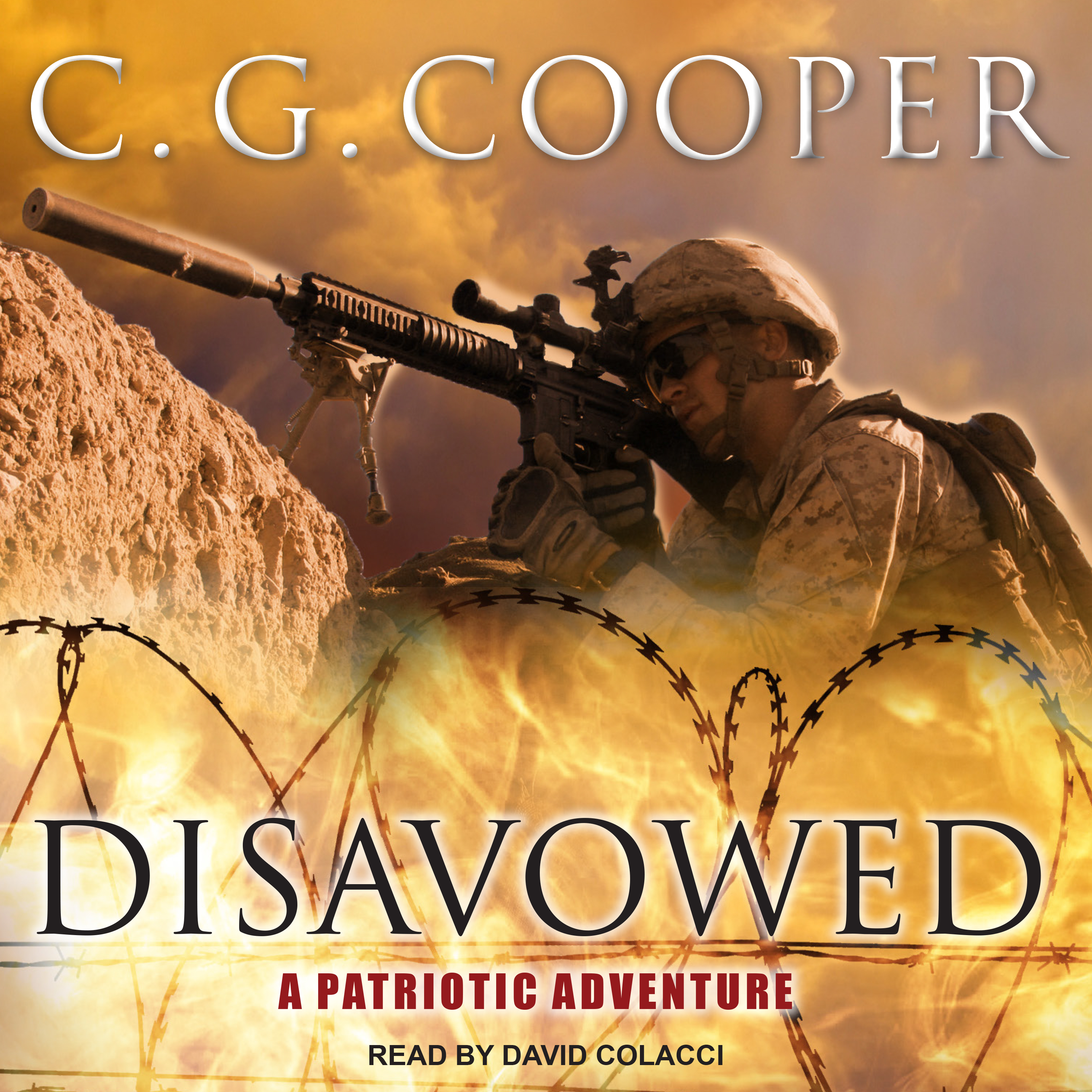 Printable Disavowed: A Patriotic Adventure Audiobook Cover Art