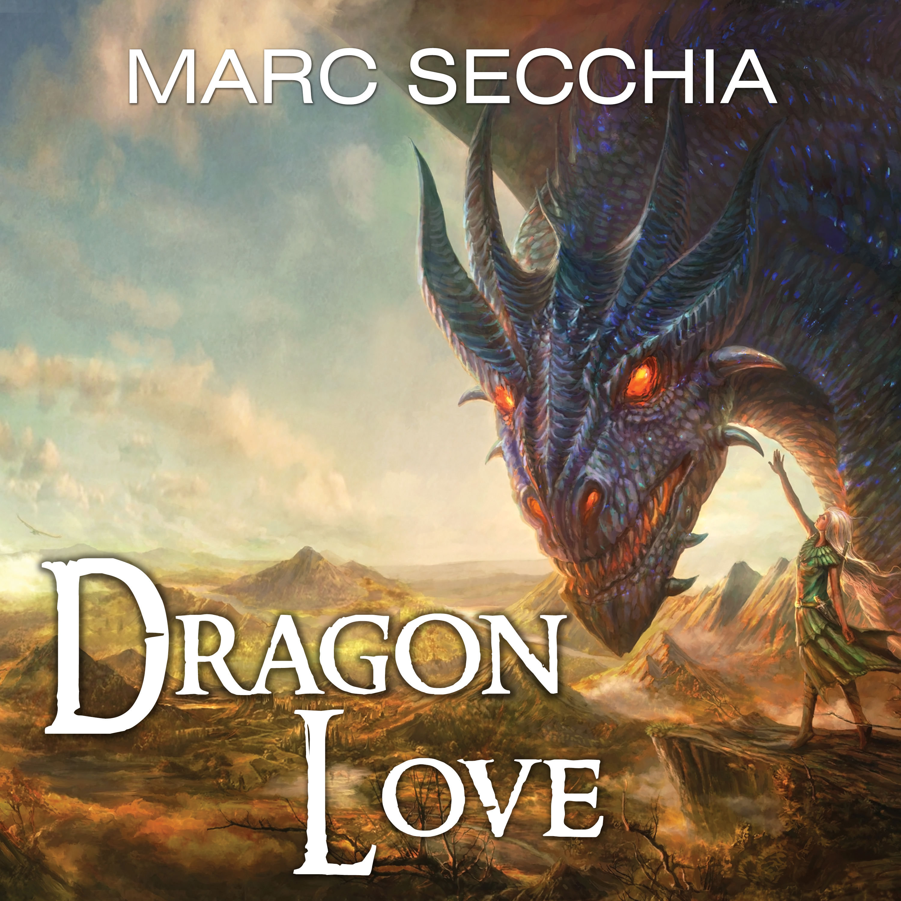Printable Dragonlove Audiobook Cover Art