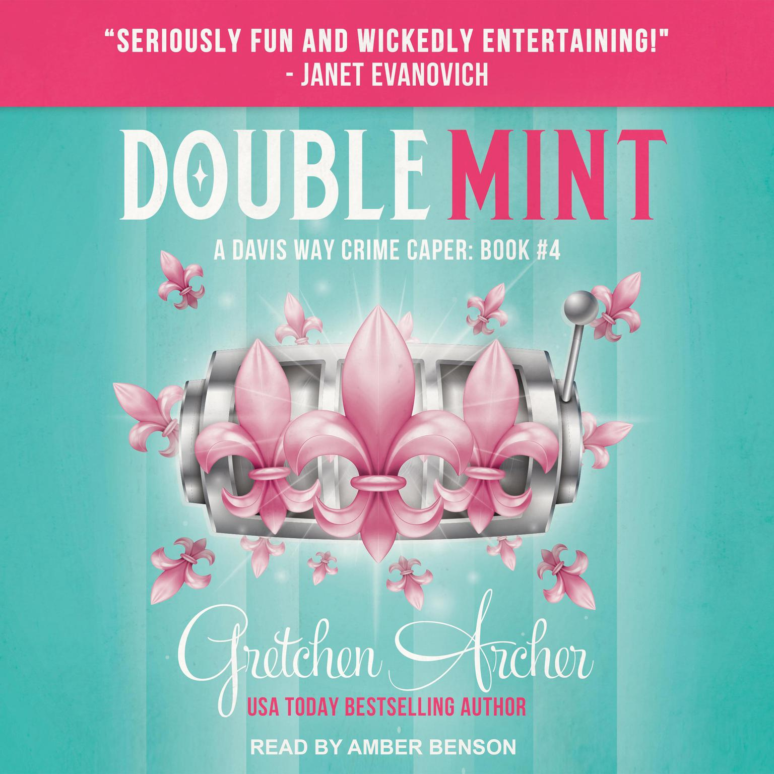 Printable Double Mint Audiobook Cover Art