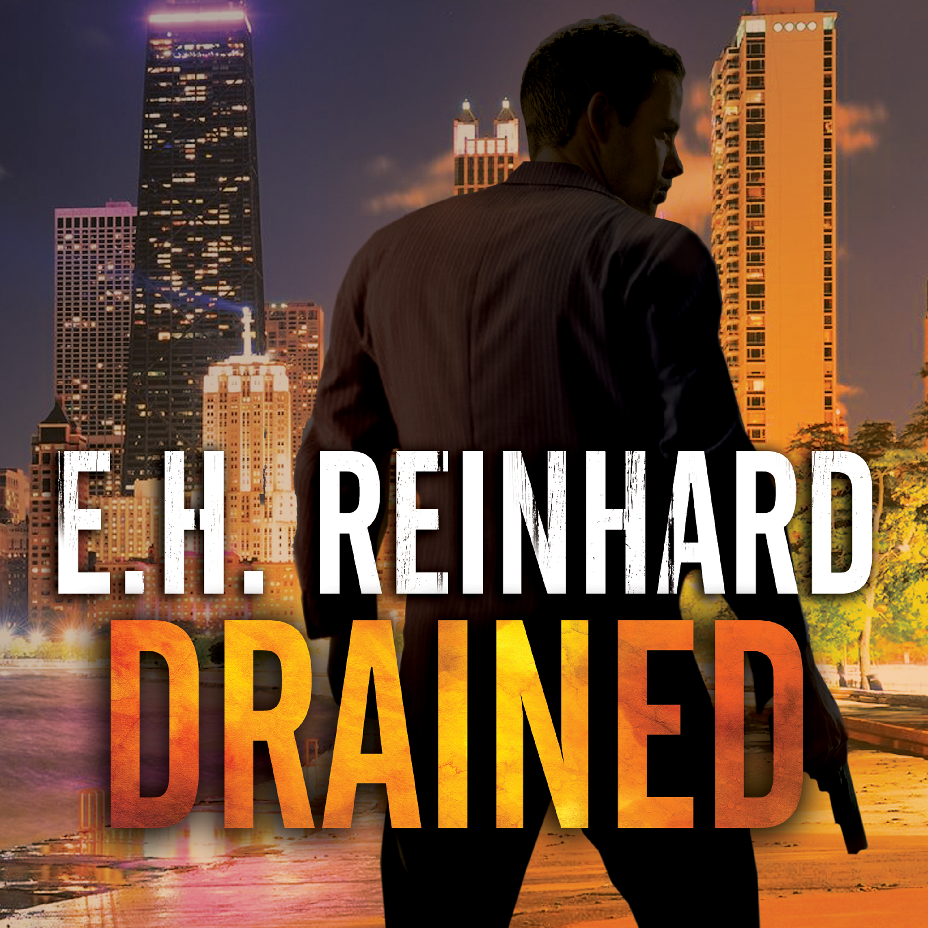 Printable Drained Audiobook Cover Art