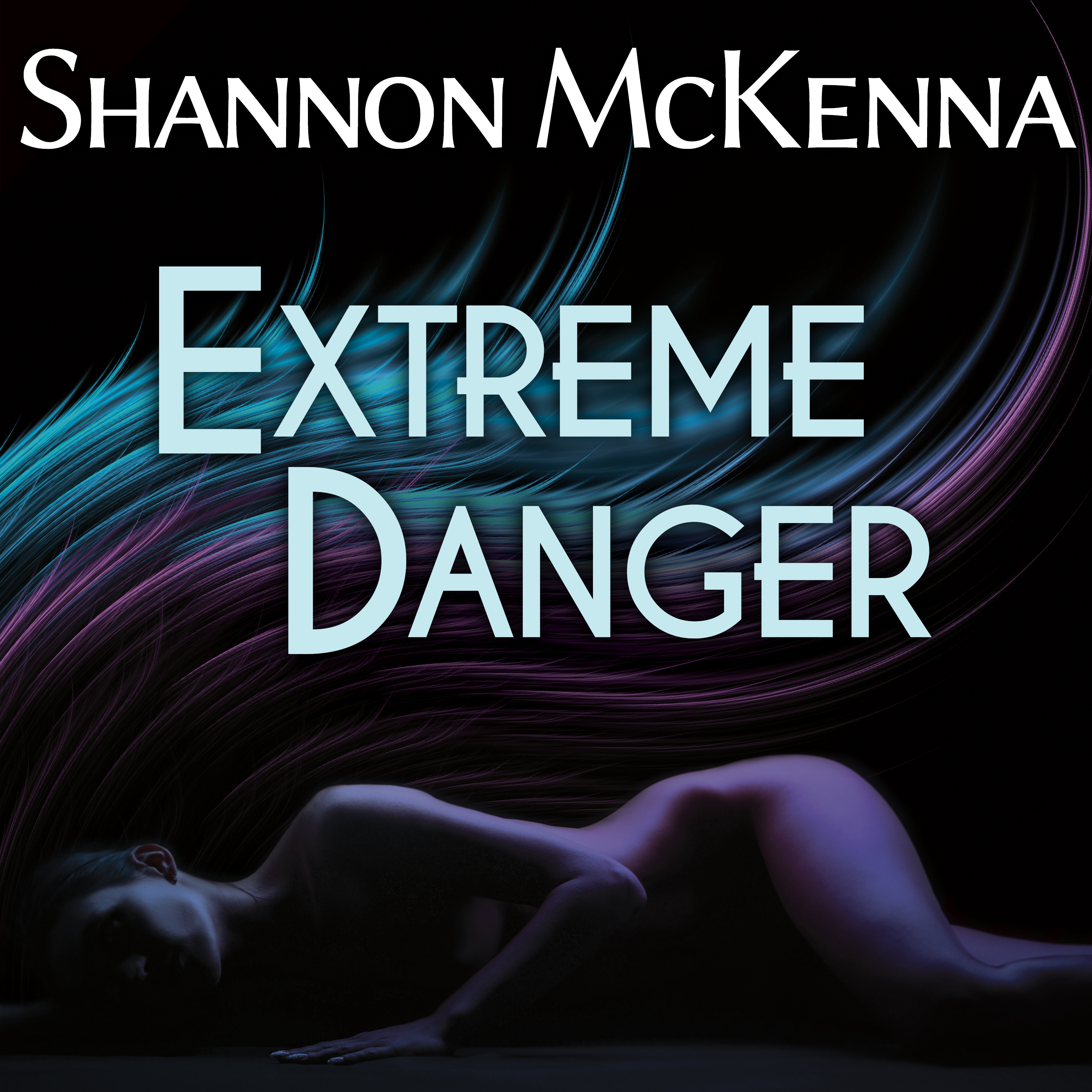 Printable Extreme Danger Audiobook Cover Art