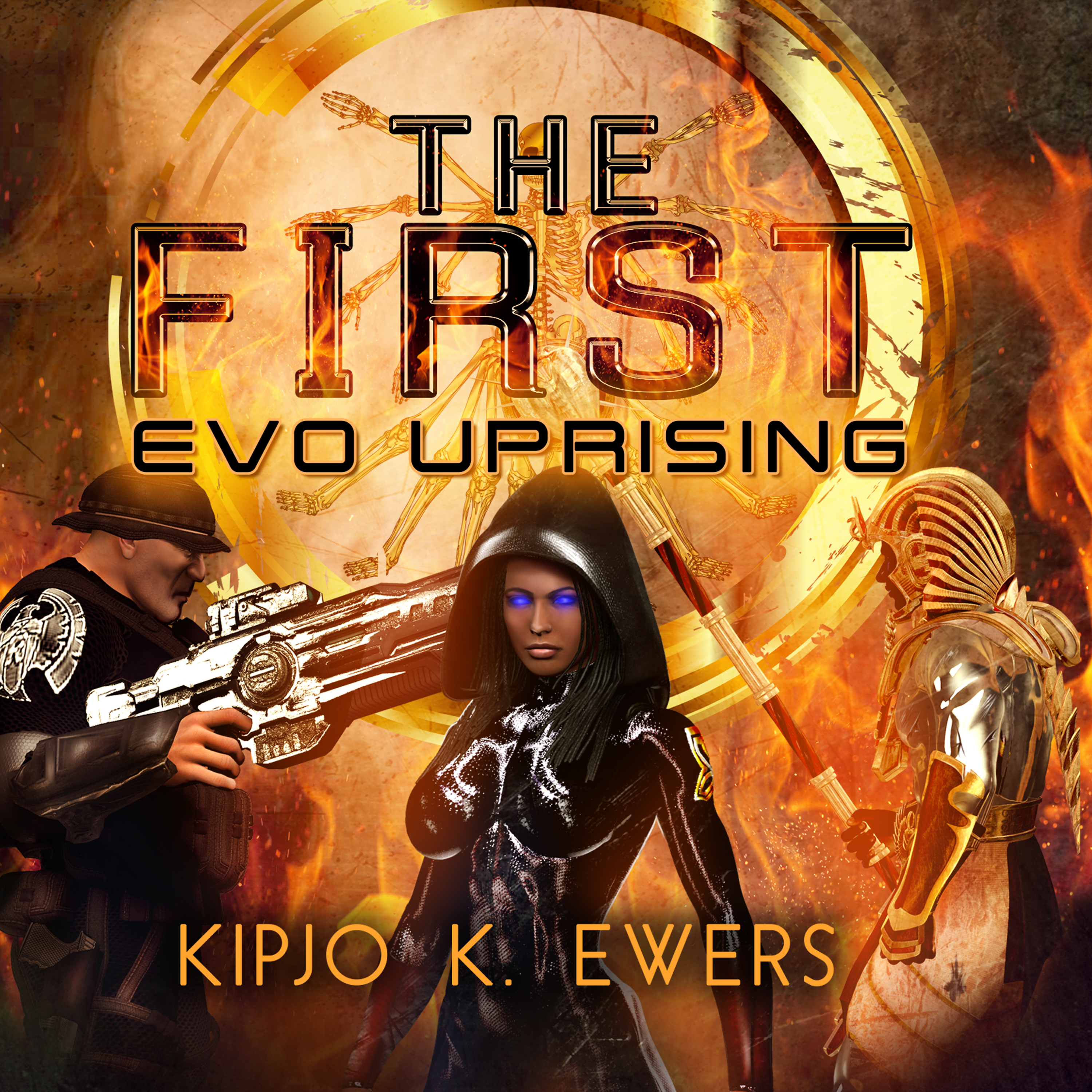 Printable EVO Uprising Audiobook Cover Art