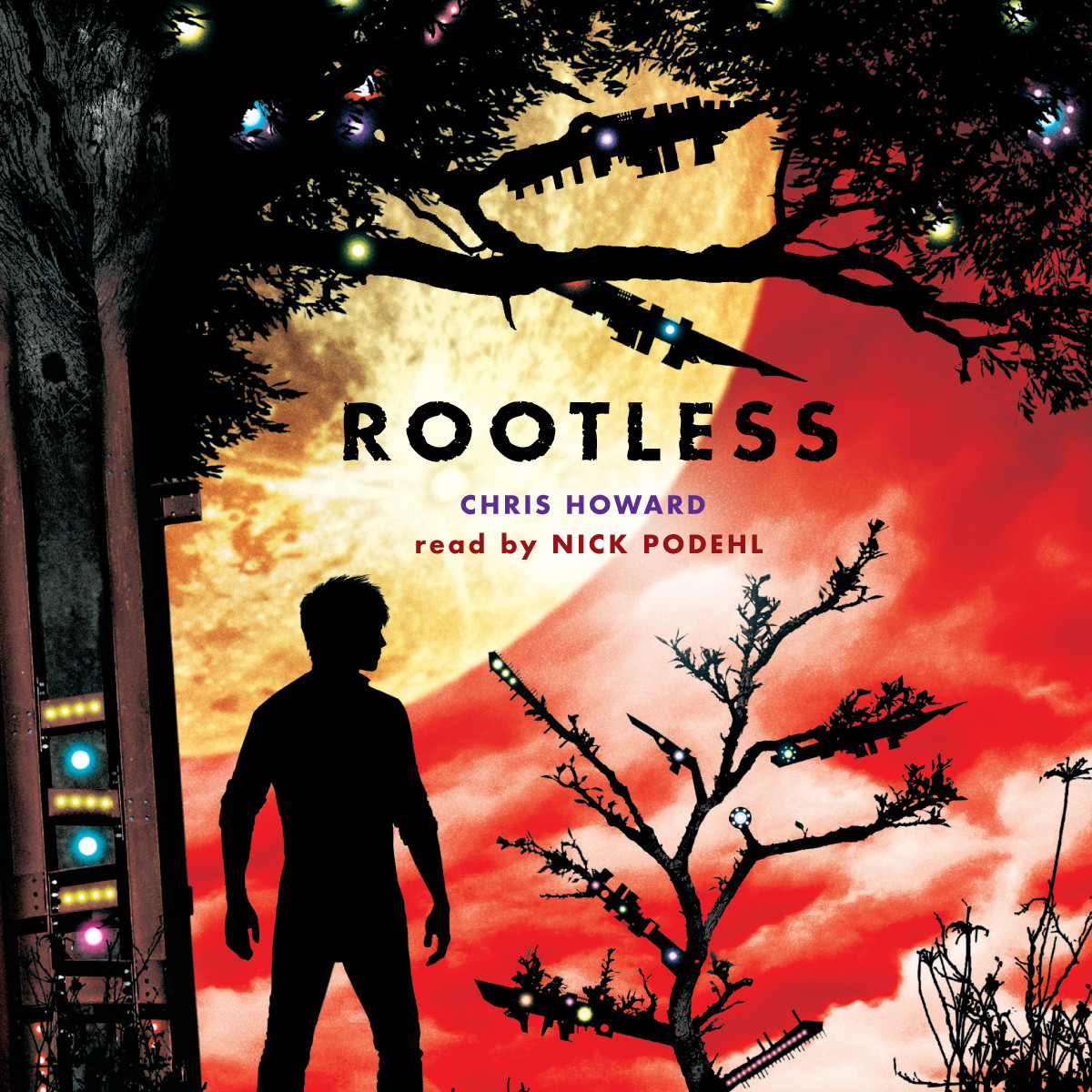 Printable Rootless Audiobook Cover Art