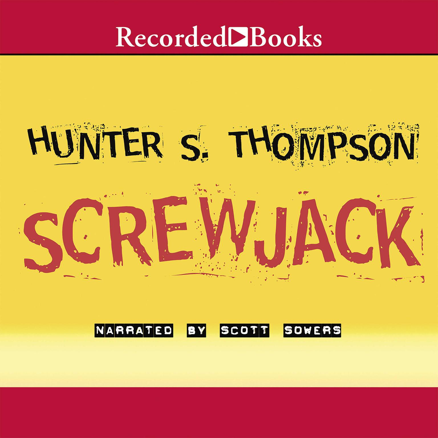 Printable Screwjack Audiobook Cover Art