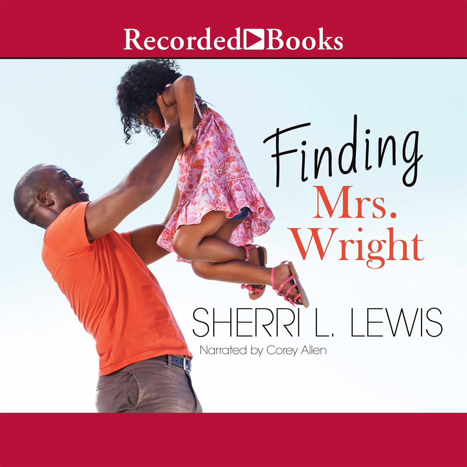 Printable Finding Mrs. Wright Audiobook Cover Art