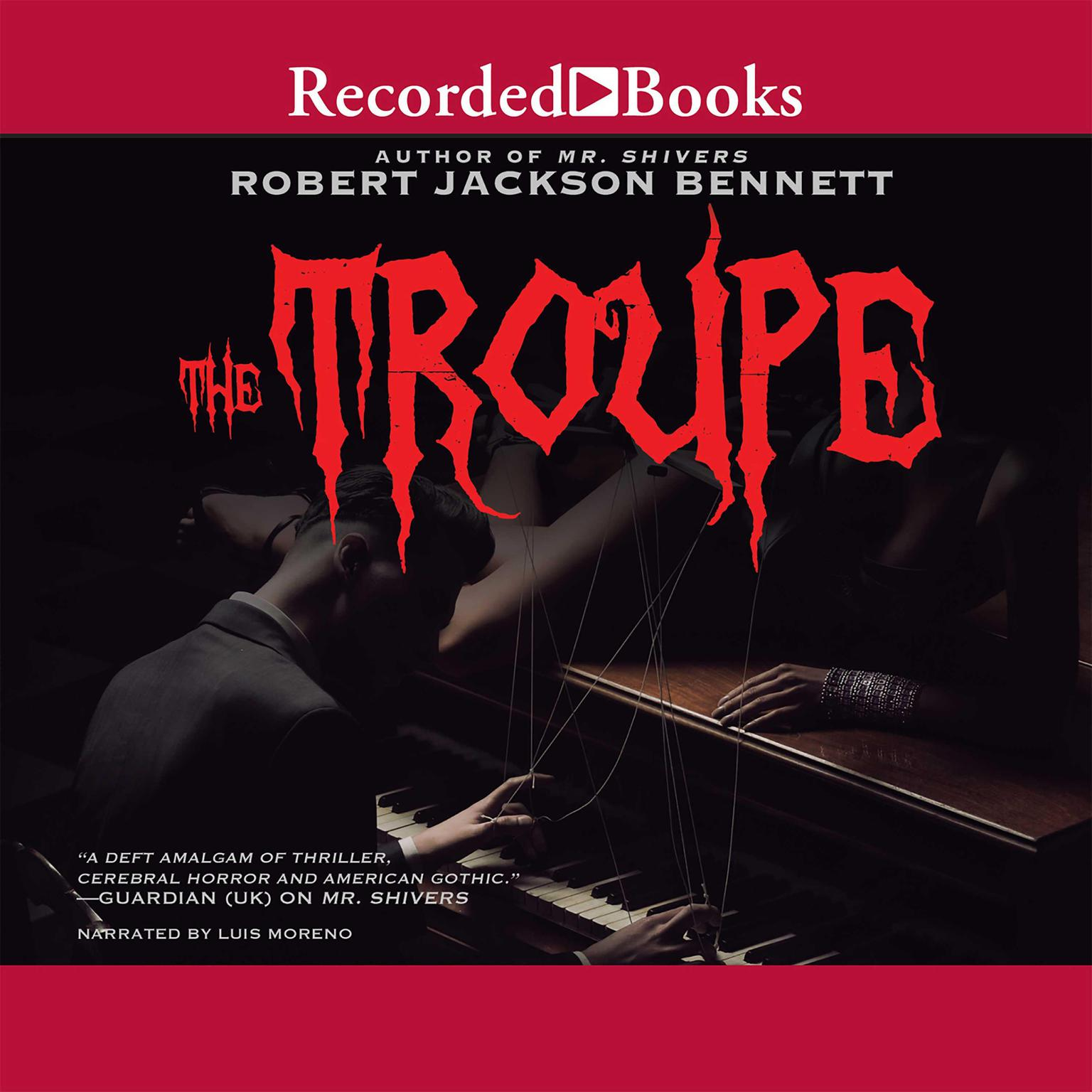 Printable The Troupe Audiobook Cover Art