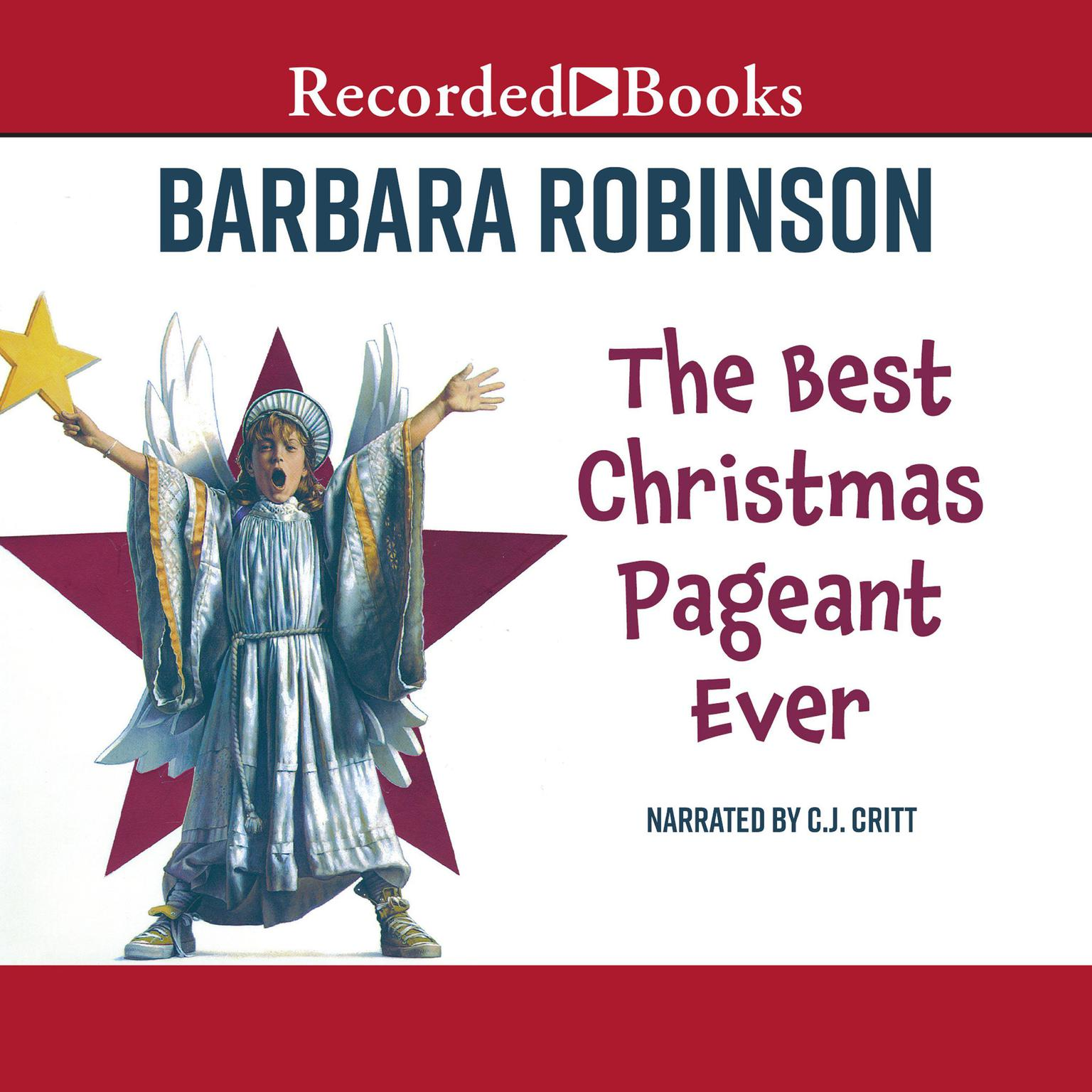Printable The Best Christmas Pageant Ever Audiobook Cover Art