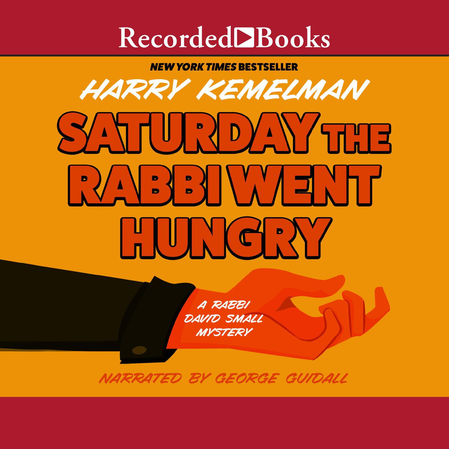 Printable Saturday the Rabbi Went Hungry Audiobook Cover Art