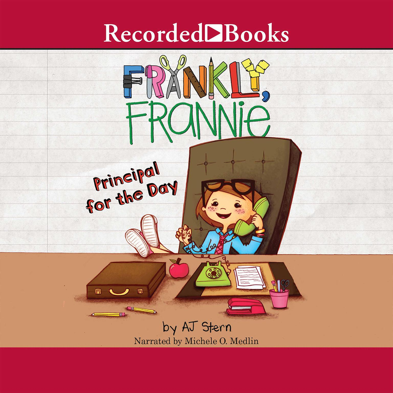 Printable Principal for the Day Audiobook Cover Art