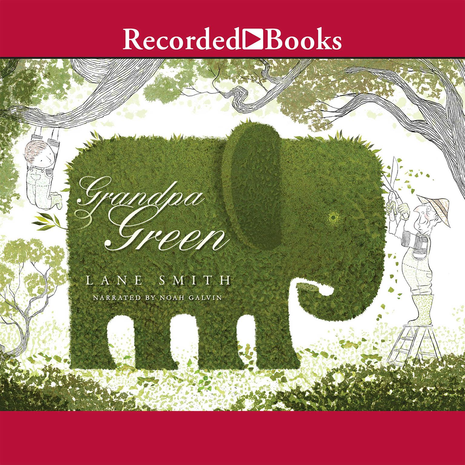 Printable Grandpa Green Audiobook Cover Art
