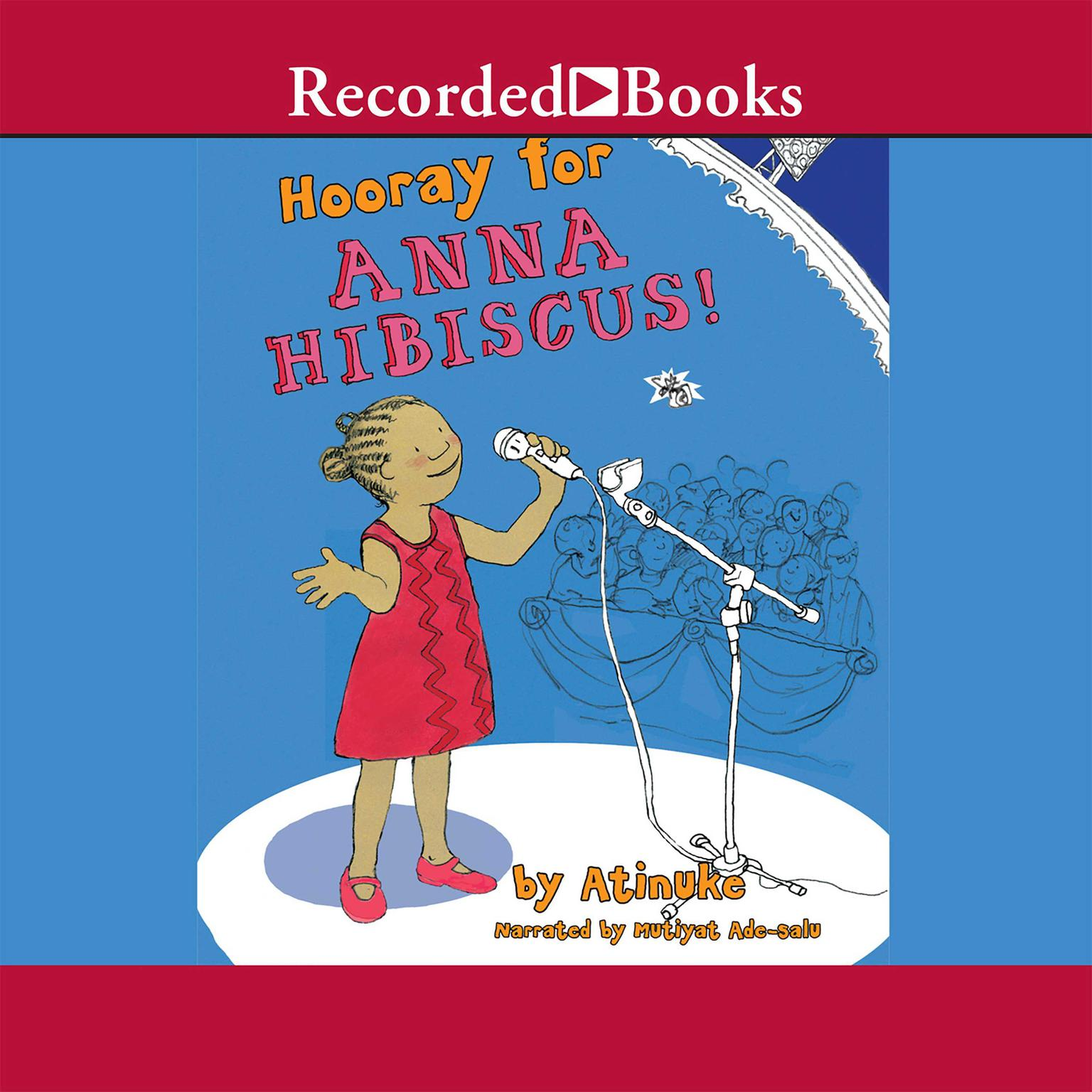 Printable Hooray for Anna Hibiscus Audiobook Cover Art