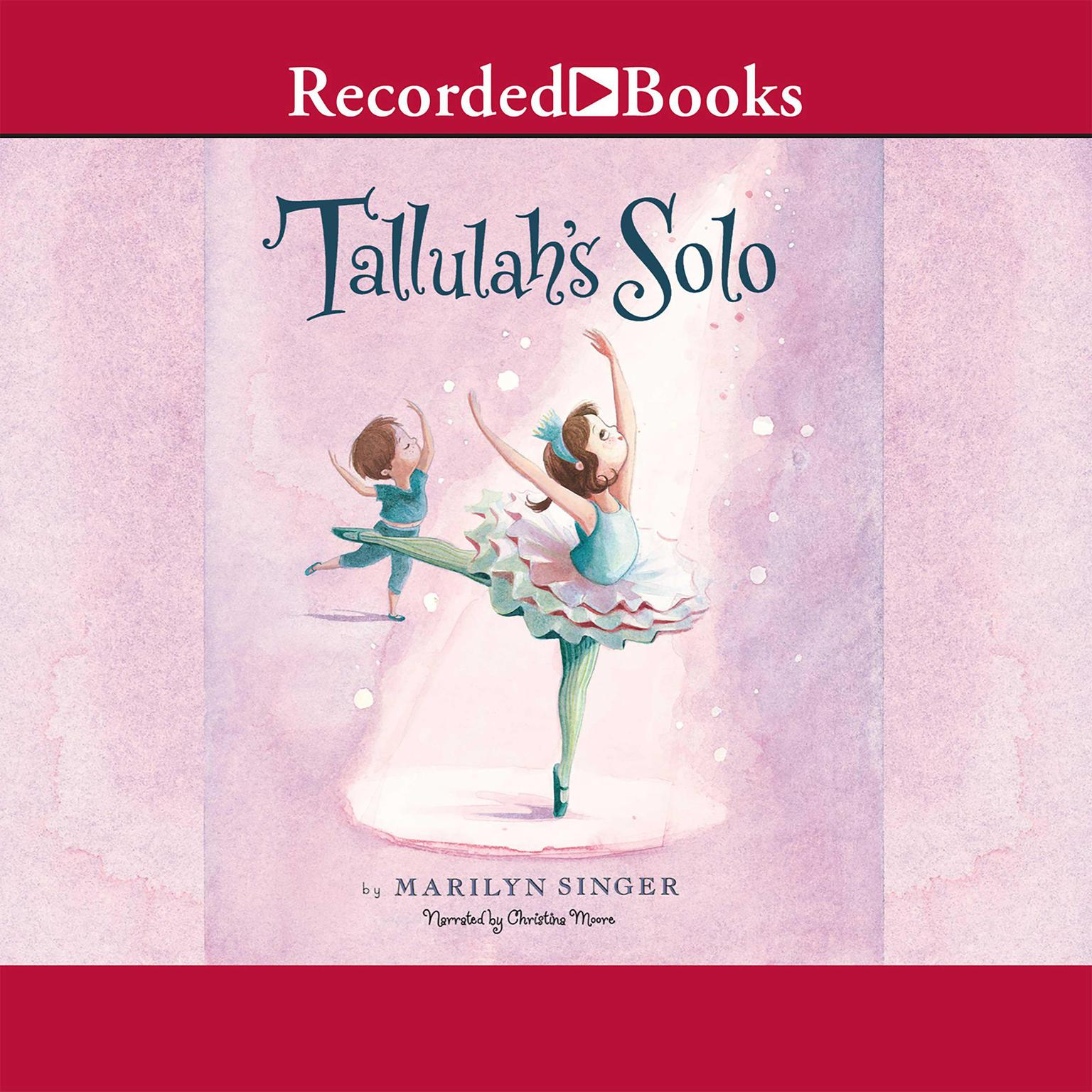 Printable Tallulah's Solo Audiobook Cover Art