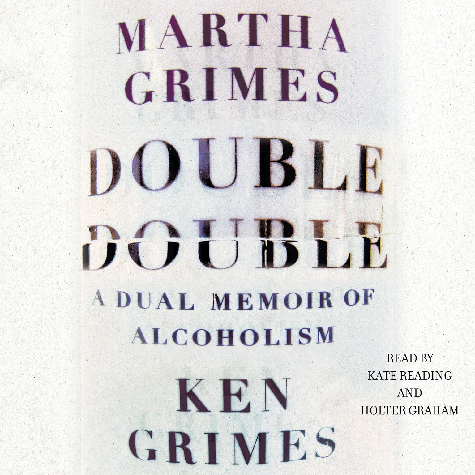 Printable Double Double: A Dual Memoir of Alcoholism Audiobook Cover Art