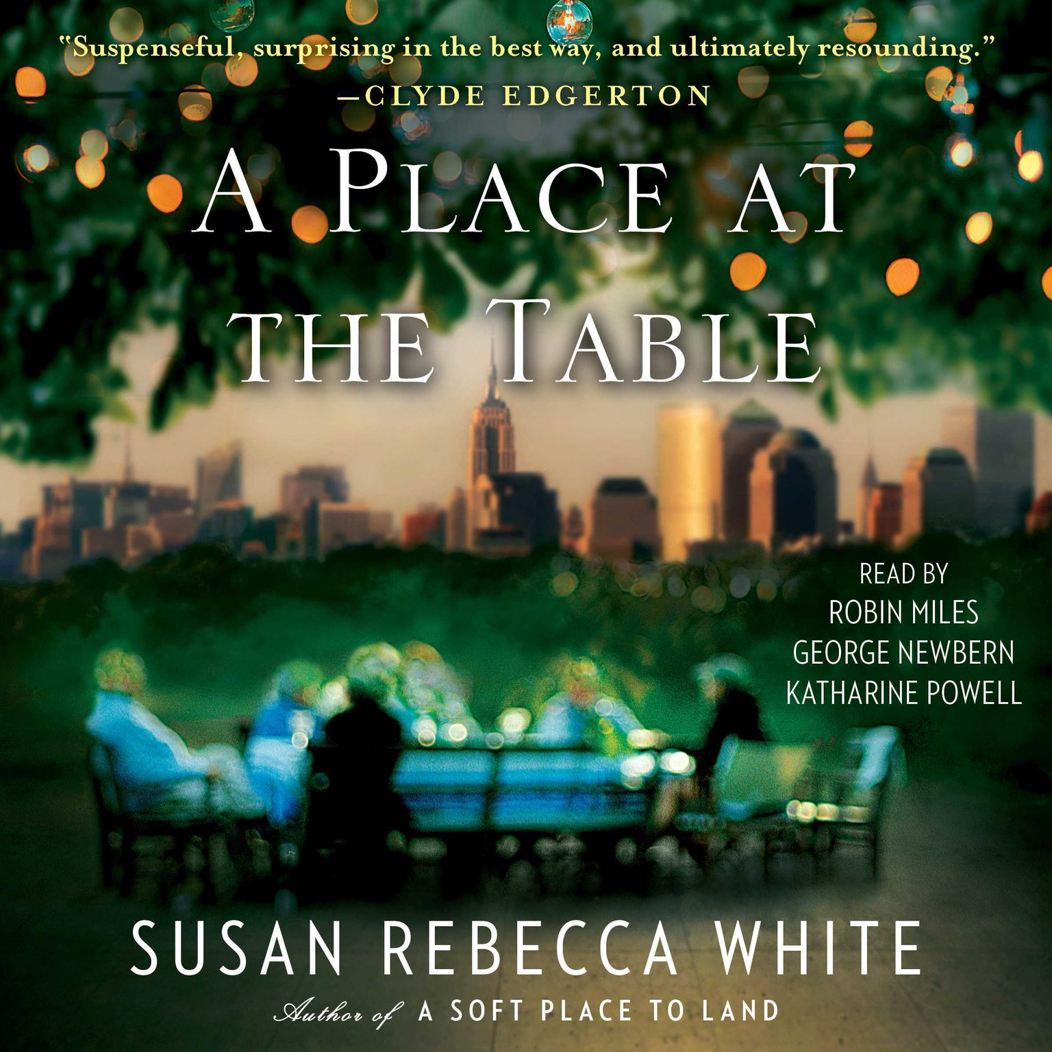 Printable A Place at the Table: A Novel Audiobook Cover Art