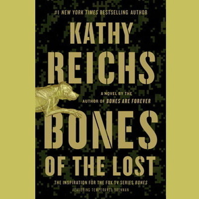 Printable Bones of the Lost: A Temperance Brennan Novel Audiobook Cover Art