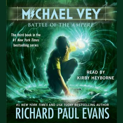 Printable Michael Vey 3 Audiobook Cover Art