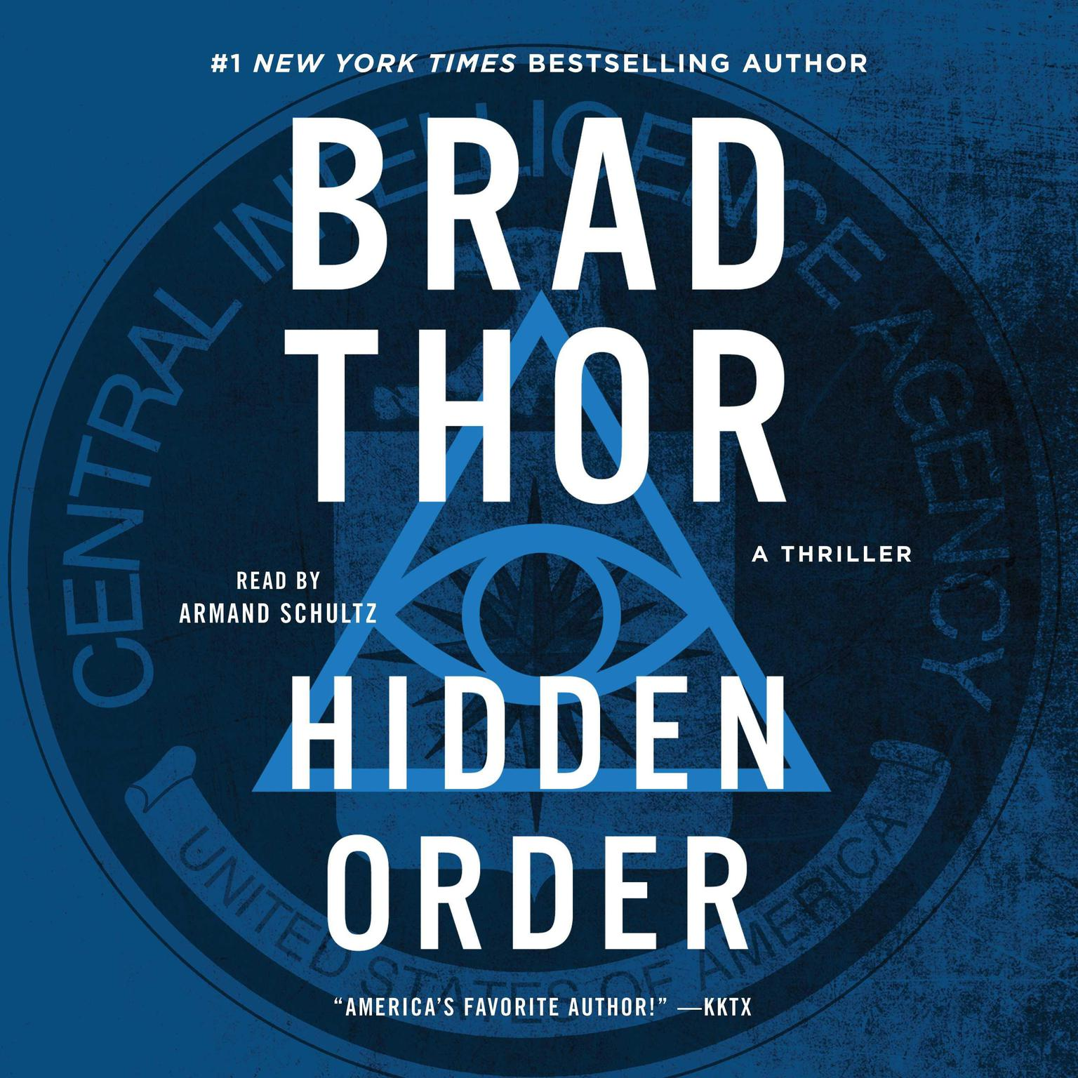 Printable Hidden Order: A Thriller Audiobook Cover Art