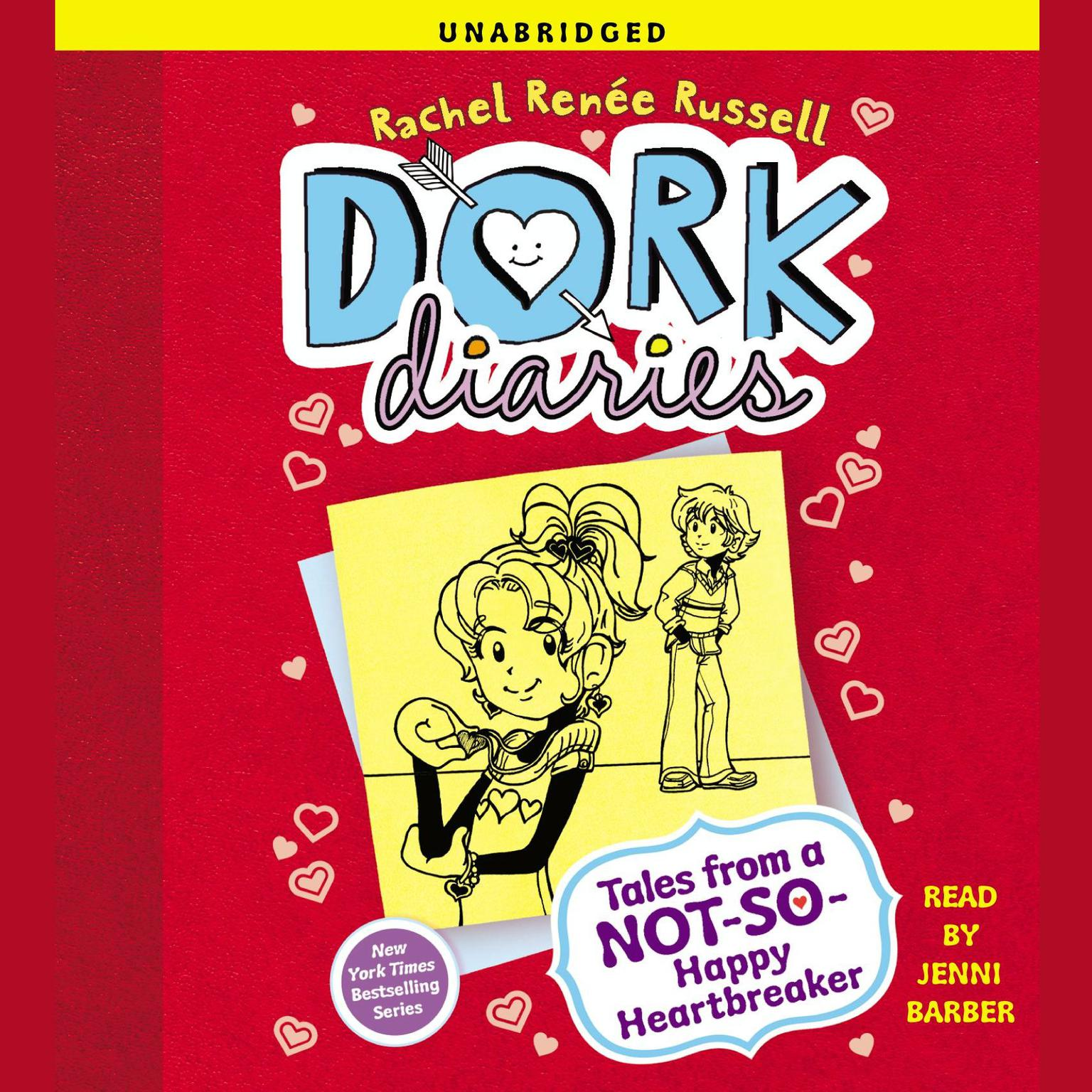 Printable Dork Diaries 6: Tales from a Not-So-Happy Heartbreaker Audiobook Cover Art