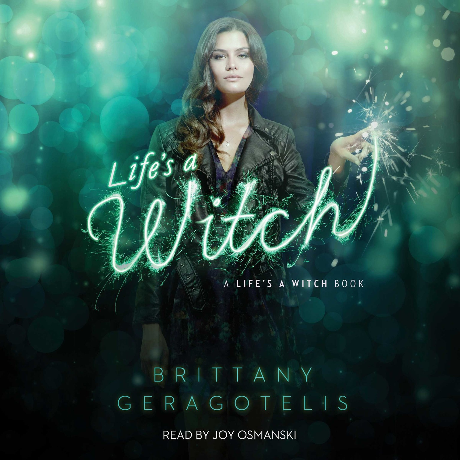 Printable Life's a Witch Audiobook Cover Art