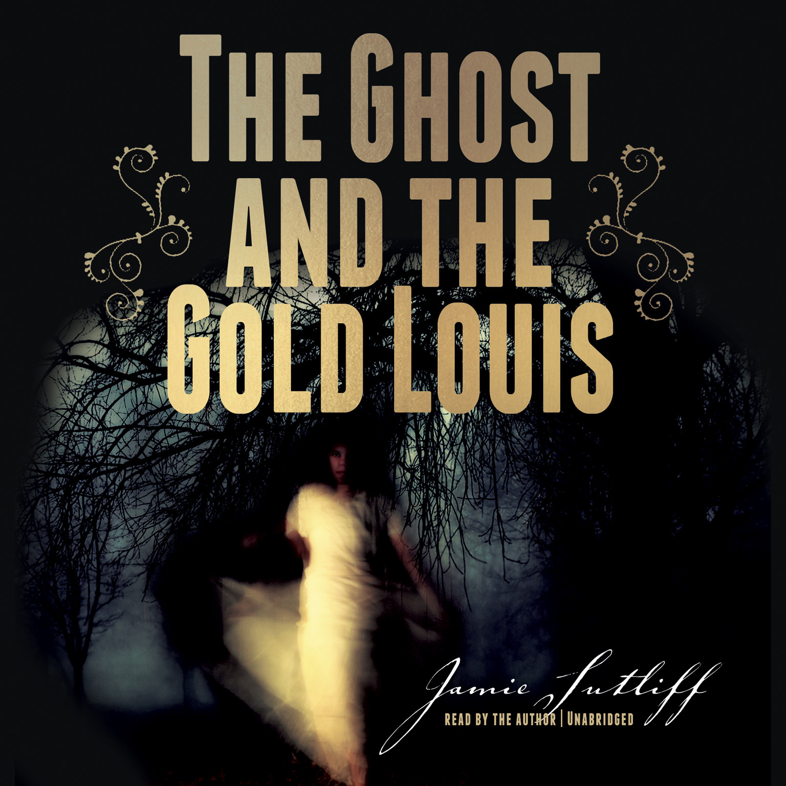 Printable The Ghost and the Gold Louis Audiobook Cover Art