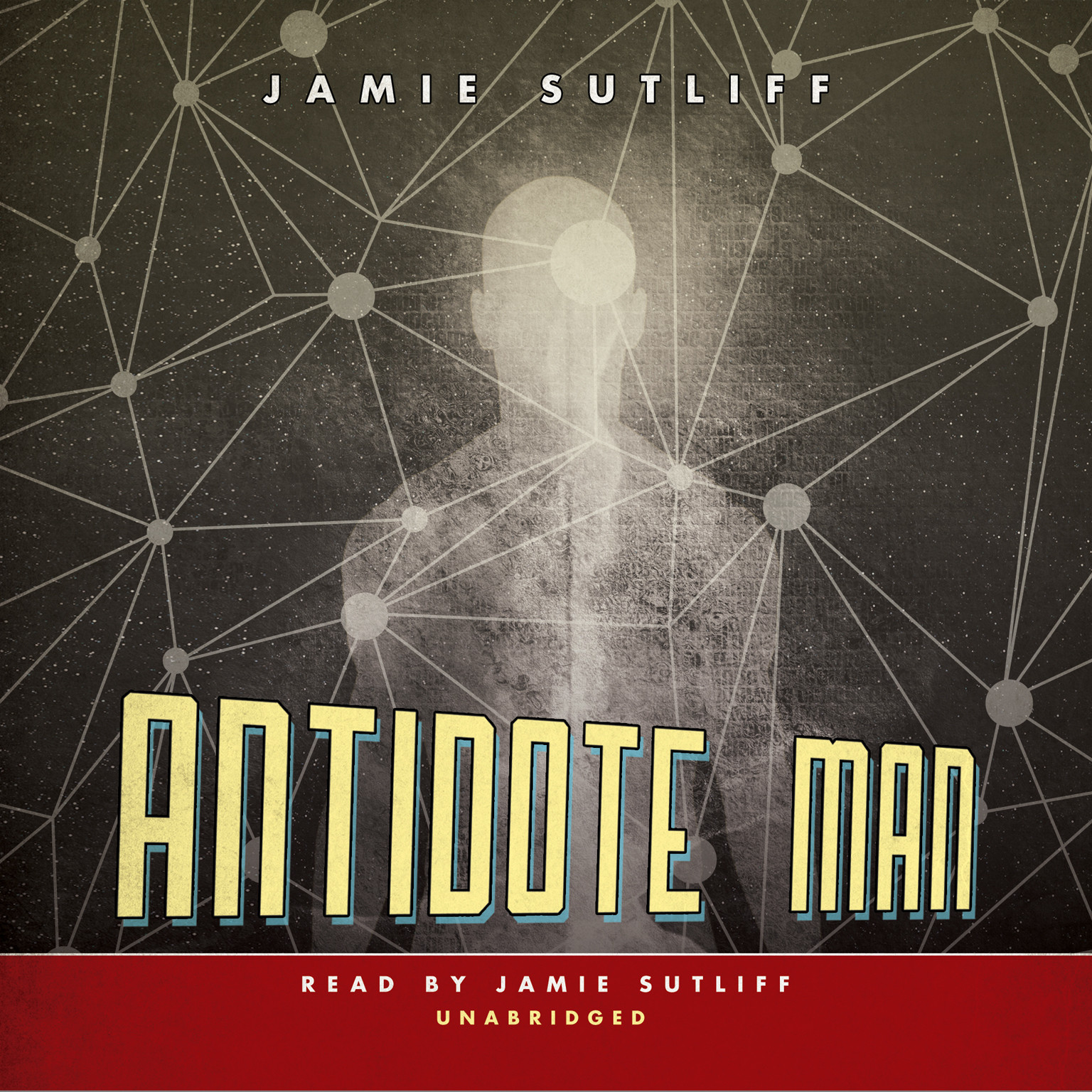 Printable Antidote Man Audiobook Cover Art