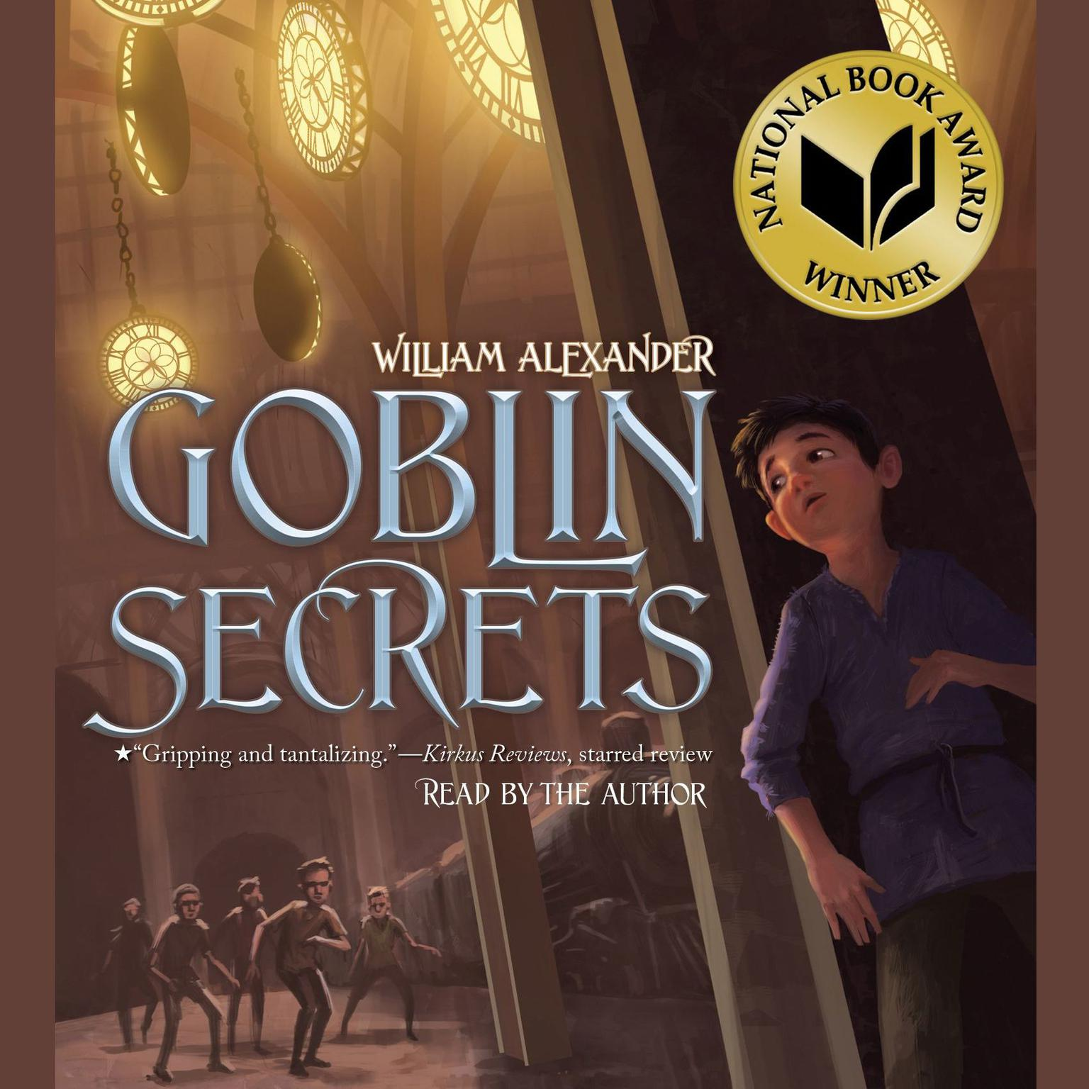 Printable Goblin Secrets Audiobook Cover Art