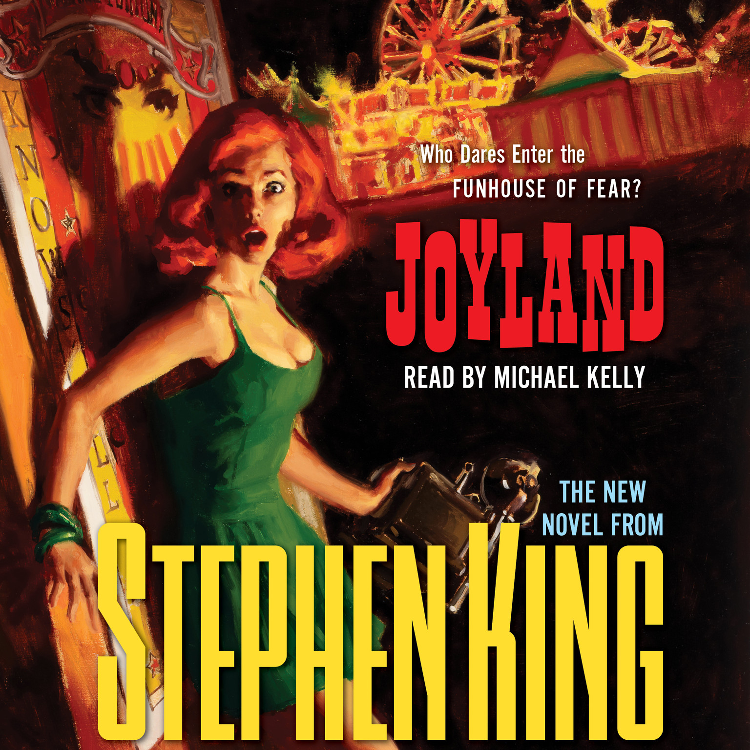 Printable Joyland Audiobook Cover Art