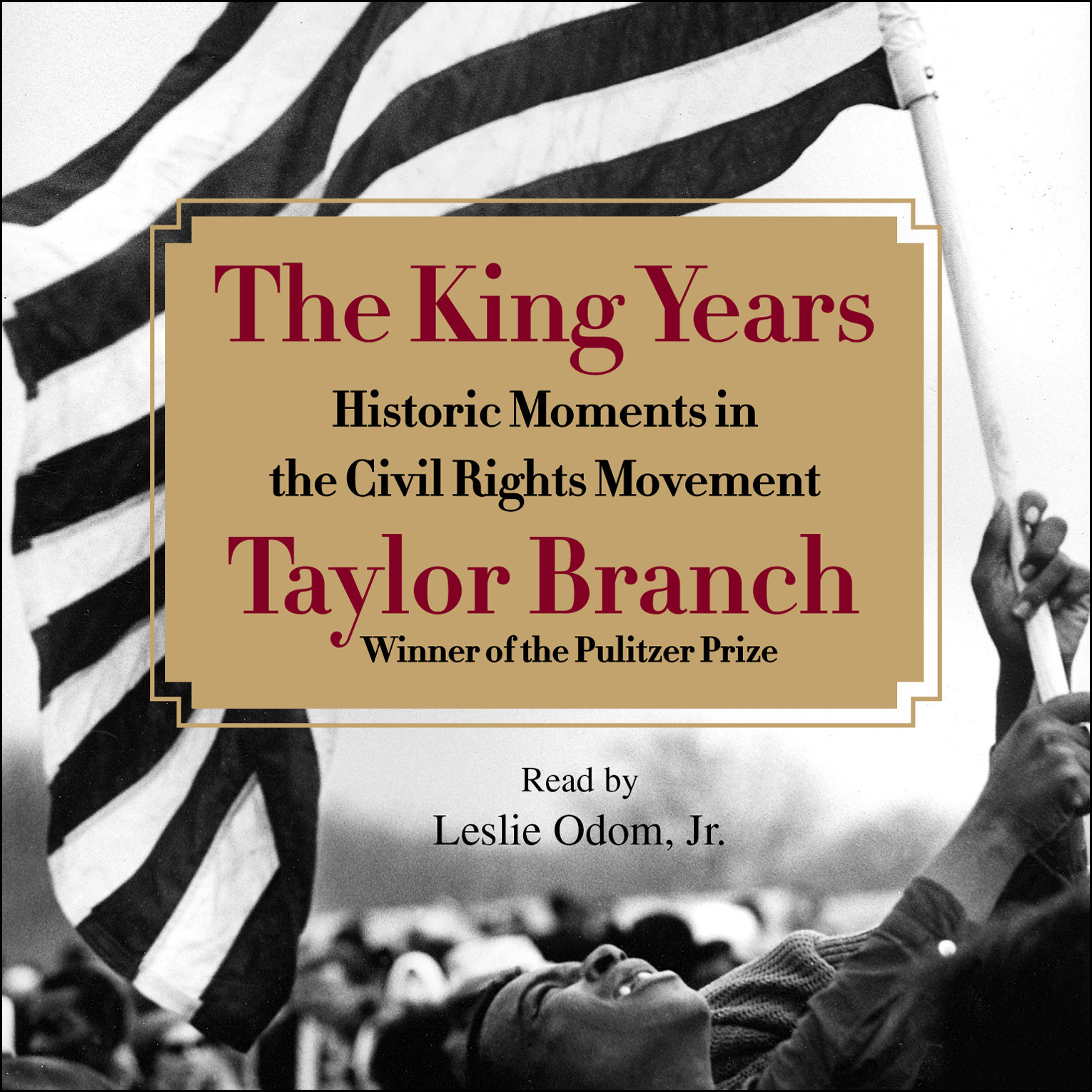 Printable The King Years: Historic Moments in the Civil Rights Movement Audiobook Cover Art