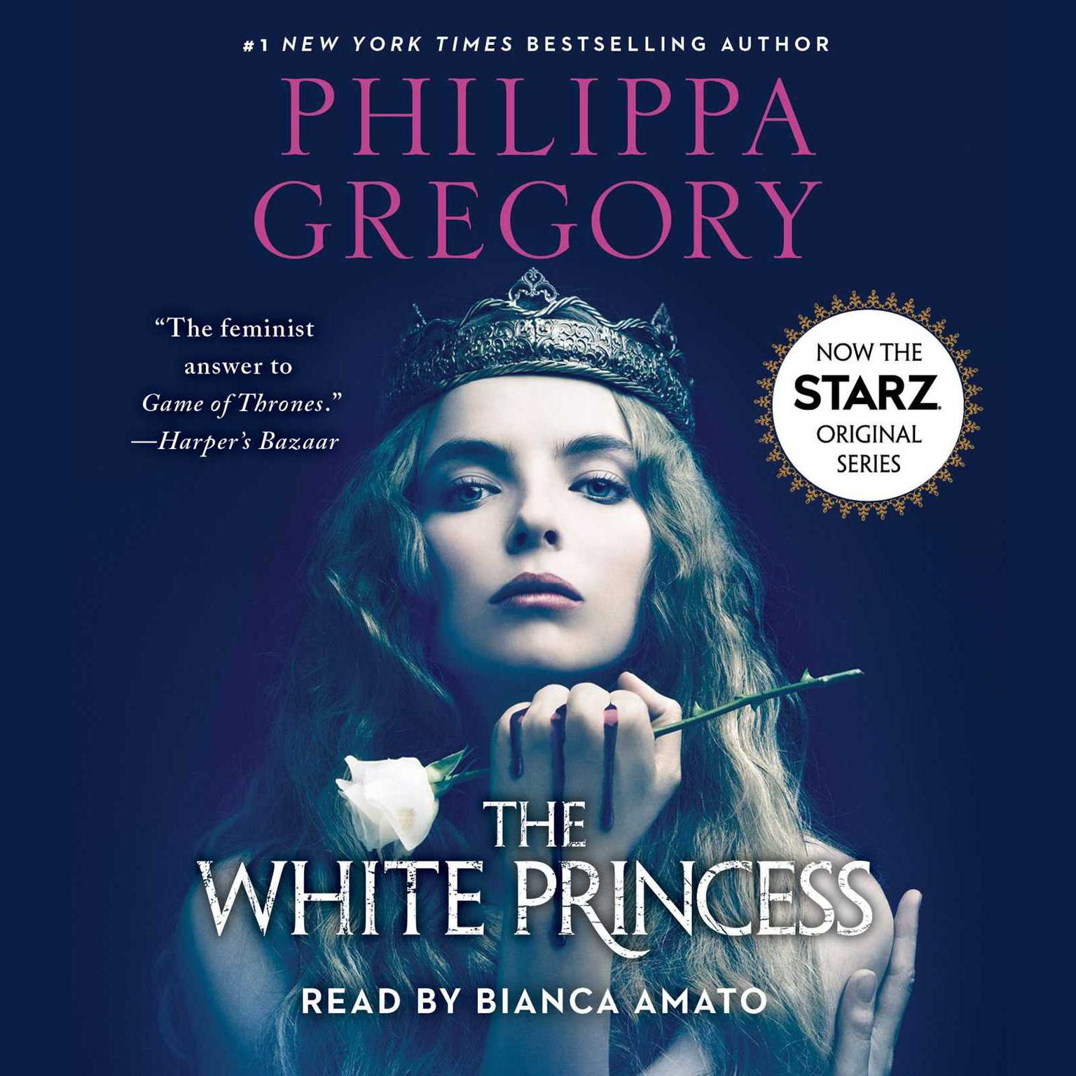 Printable The White Princess Audiobook Cover Art