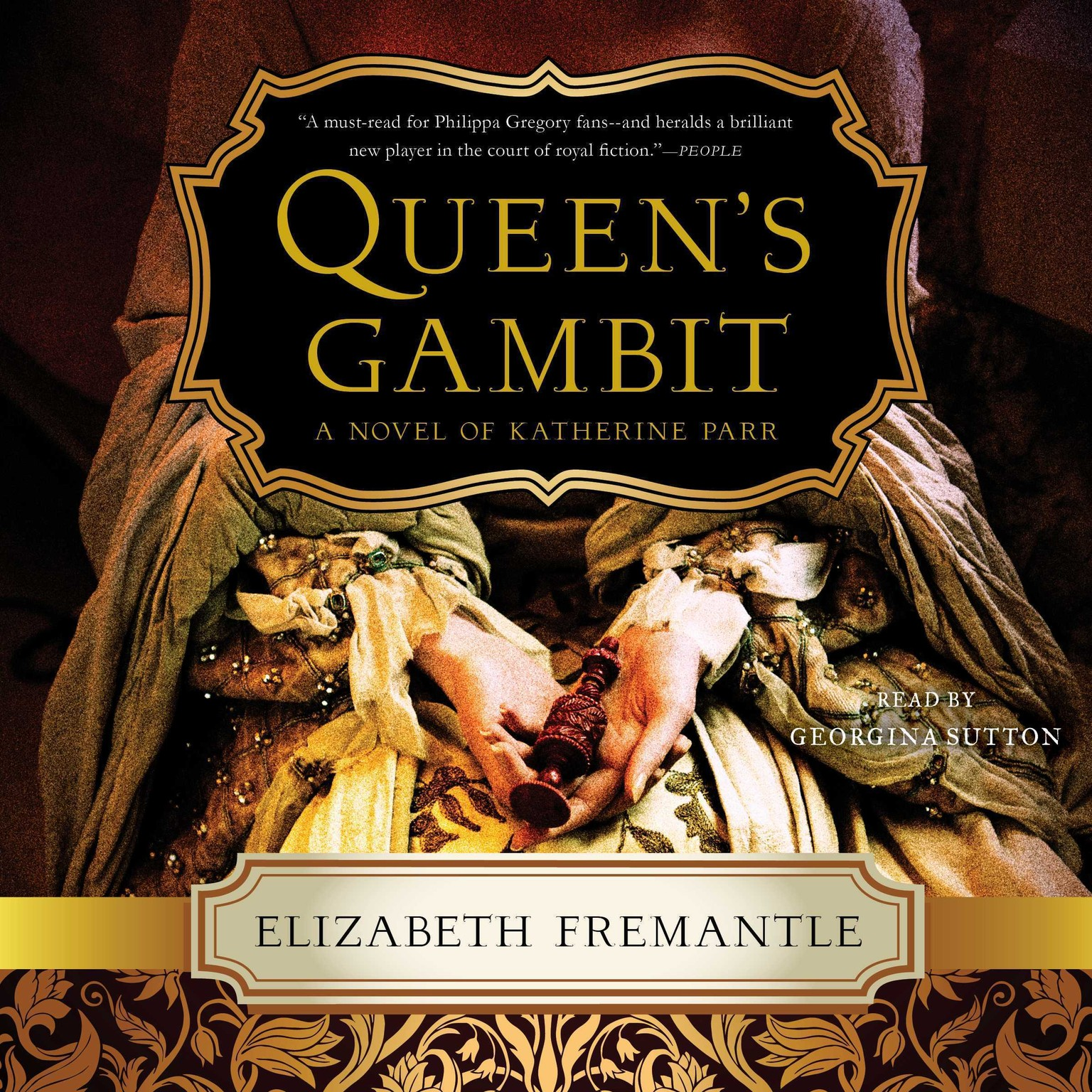 Printable Queen's Gambit: A Novel Audiobook Cover Art