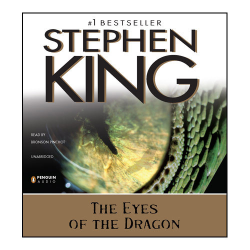 Printable The Eyes of the Dragon Audiobook Cover Art