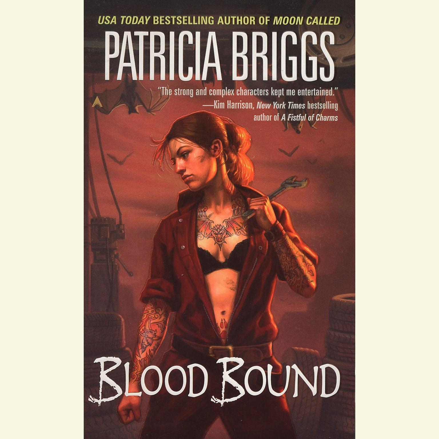 Printable Blood Bound Audiobook Cover Art