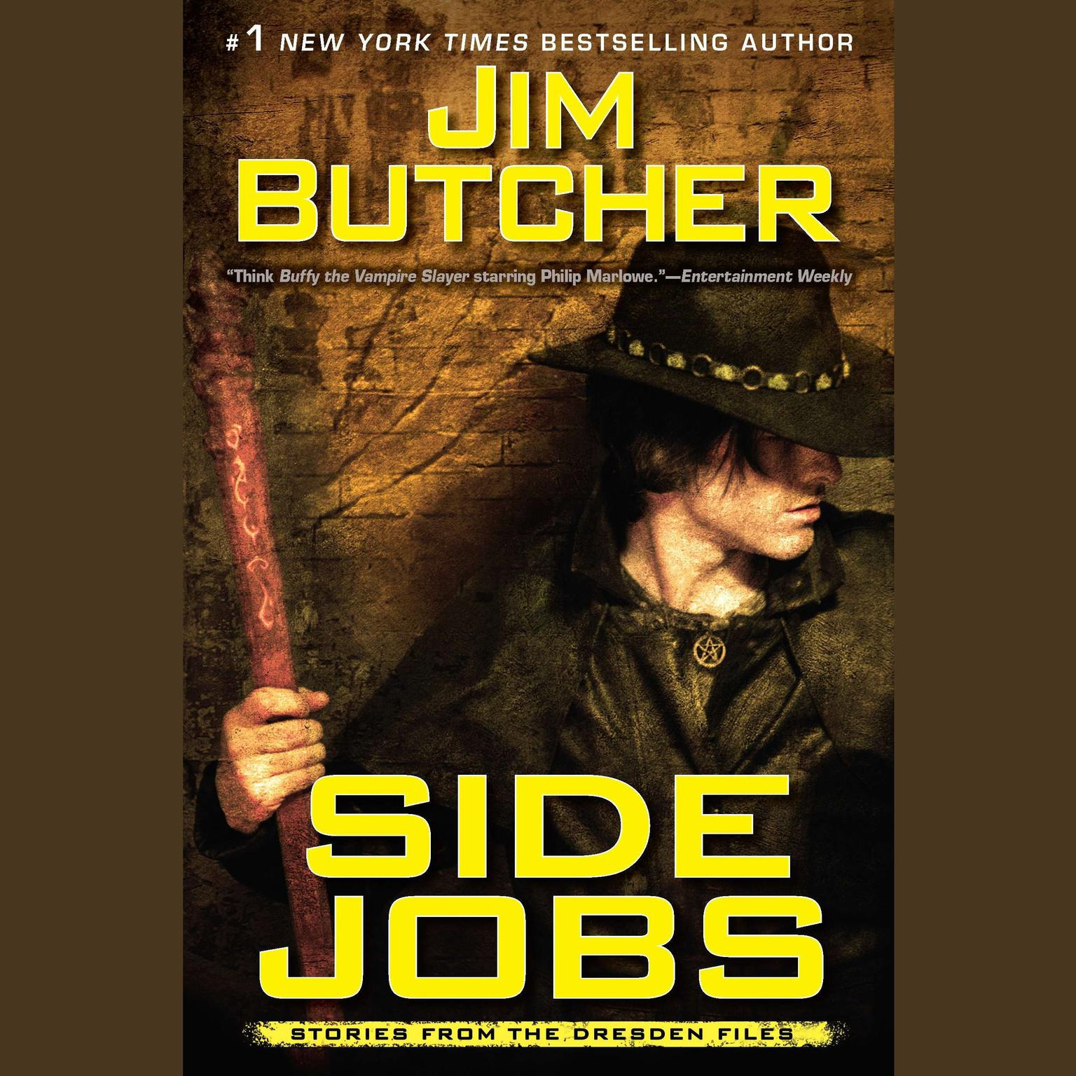 Printable Side Jobs: Stories From the Dresden Files Audiobook Cover Art