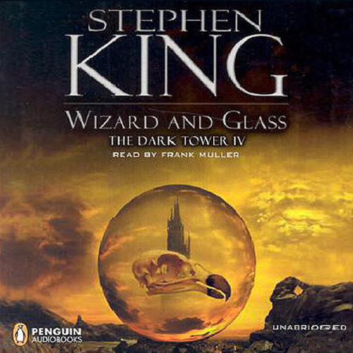 Printable Wizard and Glass Audiobook Cover Art