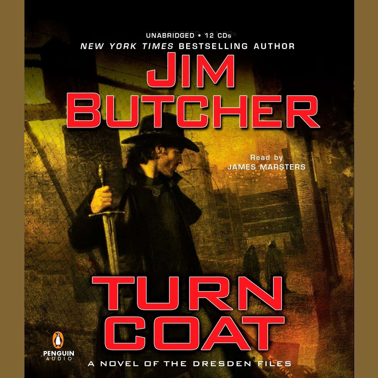 Printable Turn Coat: A Novel of the Dresden Files Audiobook Cover Art
