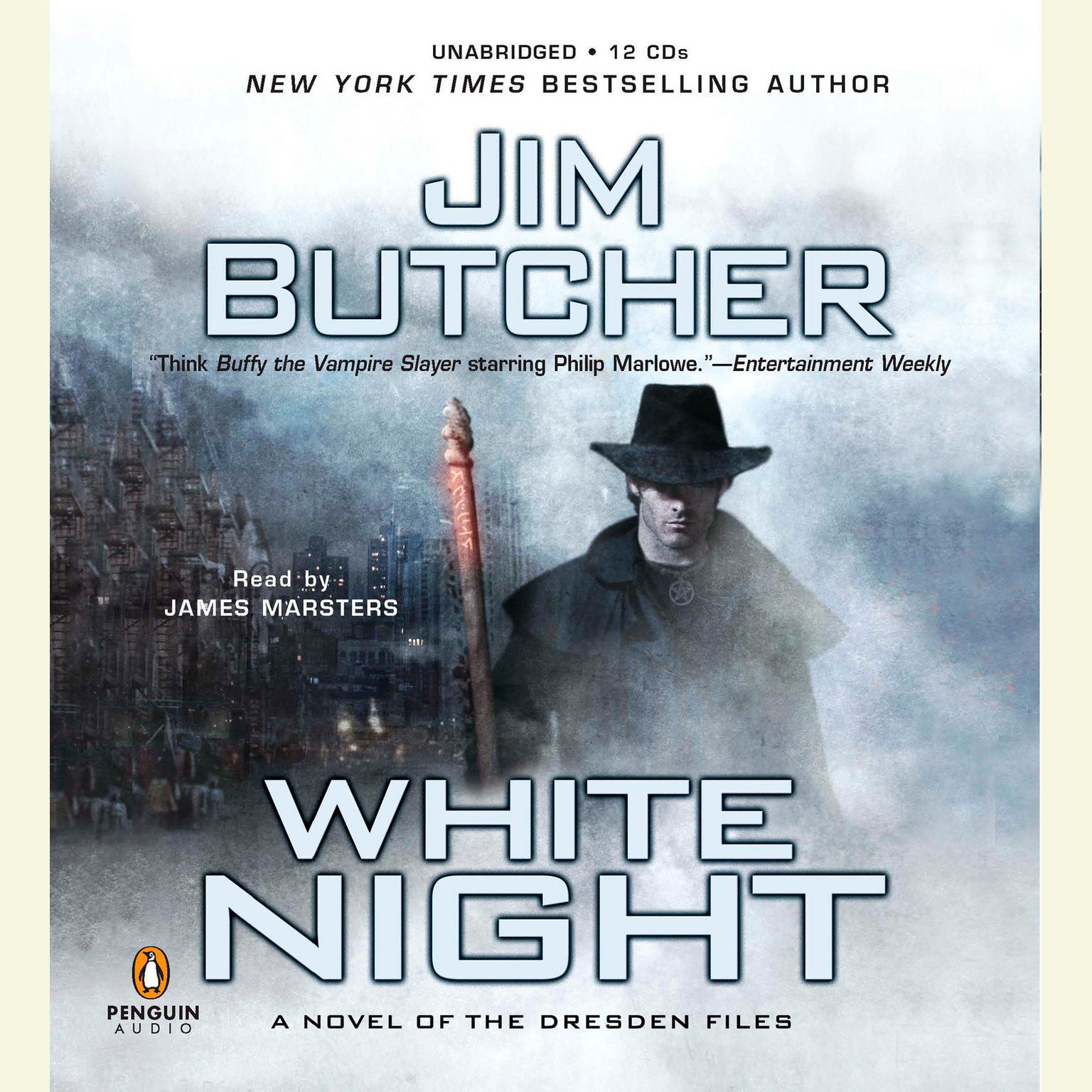 Printable White Night: A Novel of the Dresden Files Audiobook Cover Art