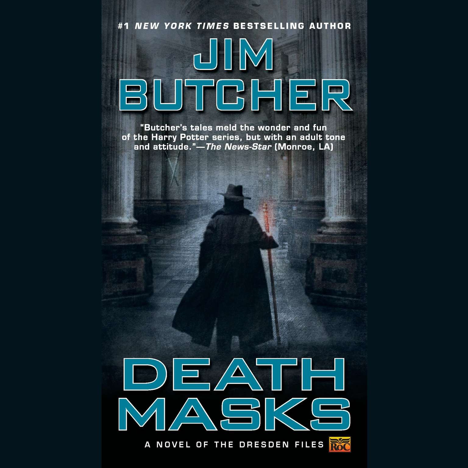 Printable Death Masks Audiobook Cover Art