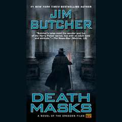 Death Masks Audiobook, by Jim Butcher
