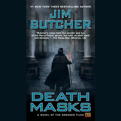 Death Masks Audiobook, by Jim Butcher