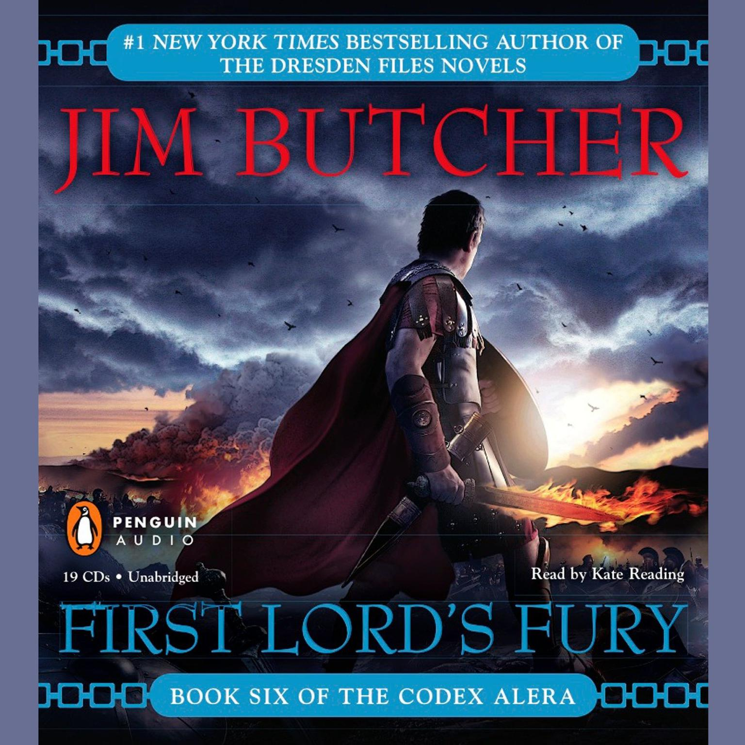 Printable First Lord's Fury Audiobook Cover Art
