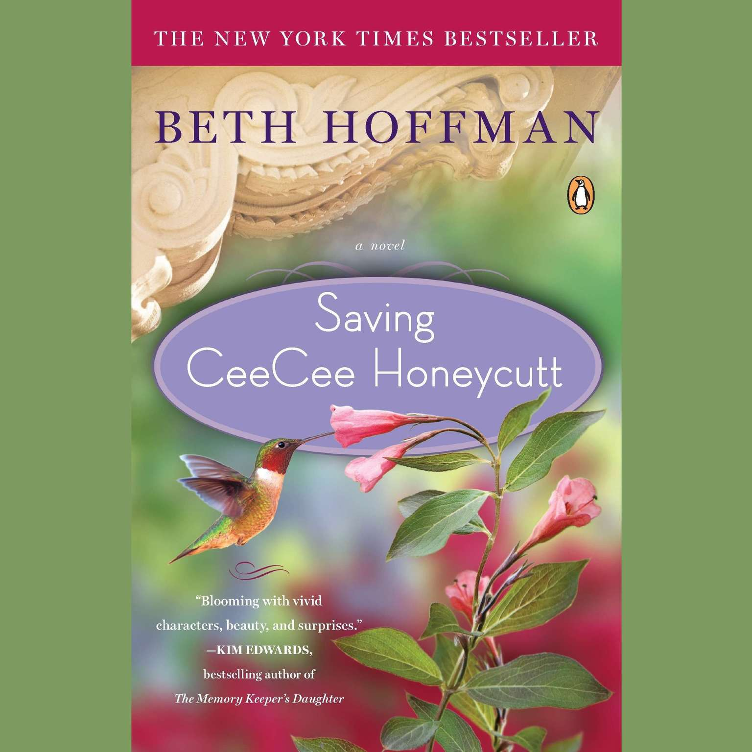 Printable Saving CeeCee Honeycutt: A Novel Audiobook Cover Art