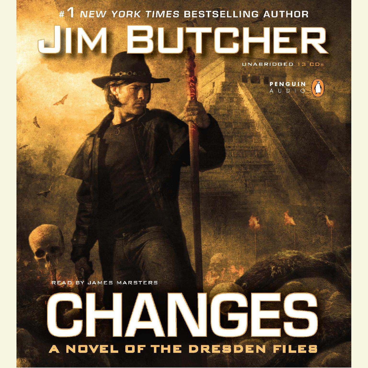 Printable Changes Audiobook Cover Art