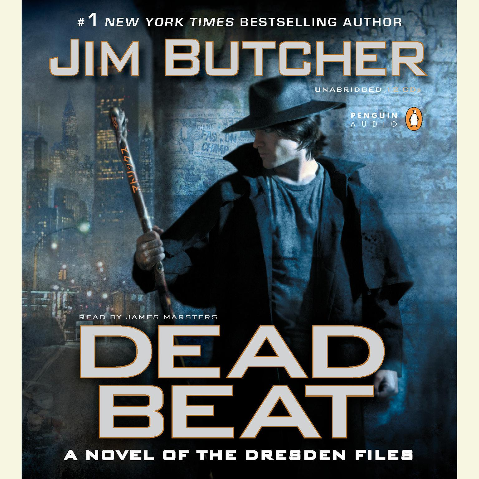 Printable Dead Beat: A Novel of the Dresden Files Audiobook Cover Art