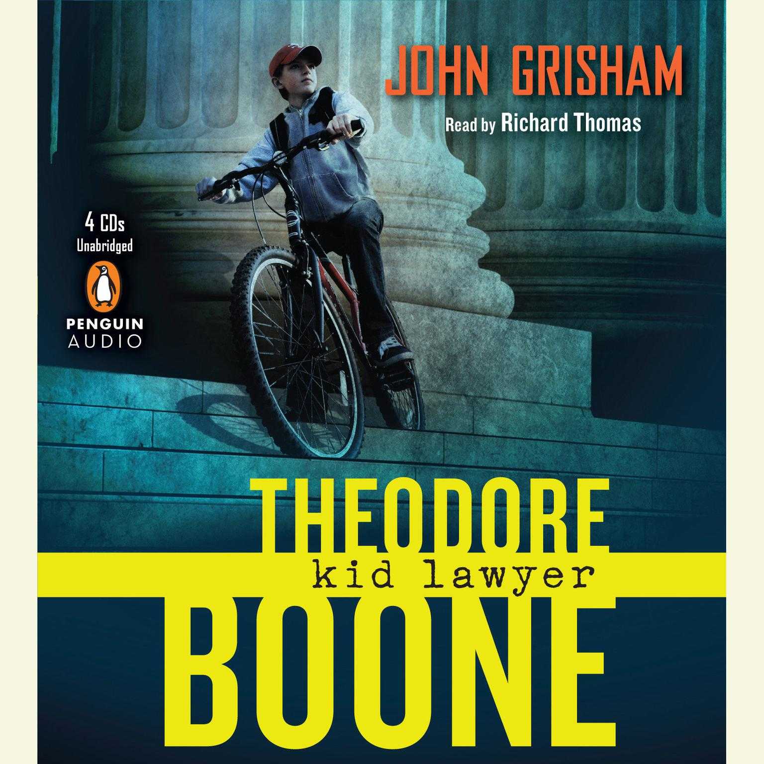 Printable Theodore Boone: Kid Lawyer Audiobook Cover Art