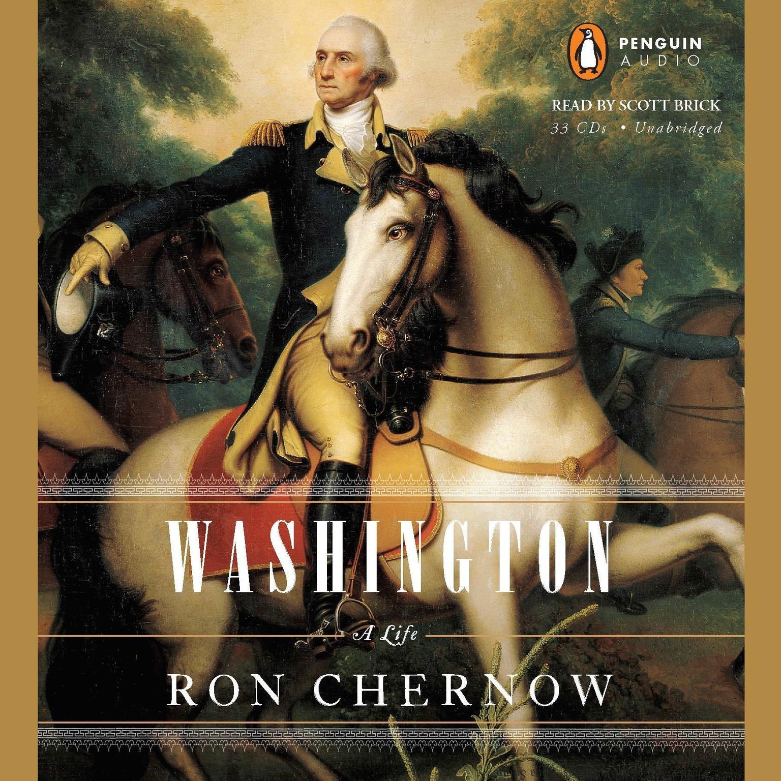 Printable Washington: A Life Audiobook Cover Art