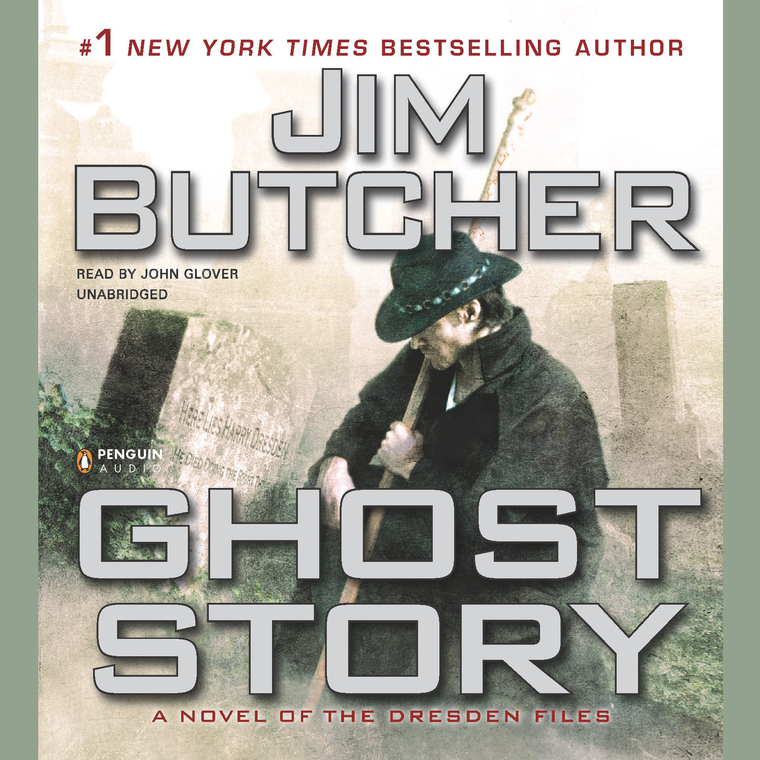 Printable Ghost Story Audiobook Cover Art